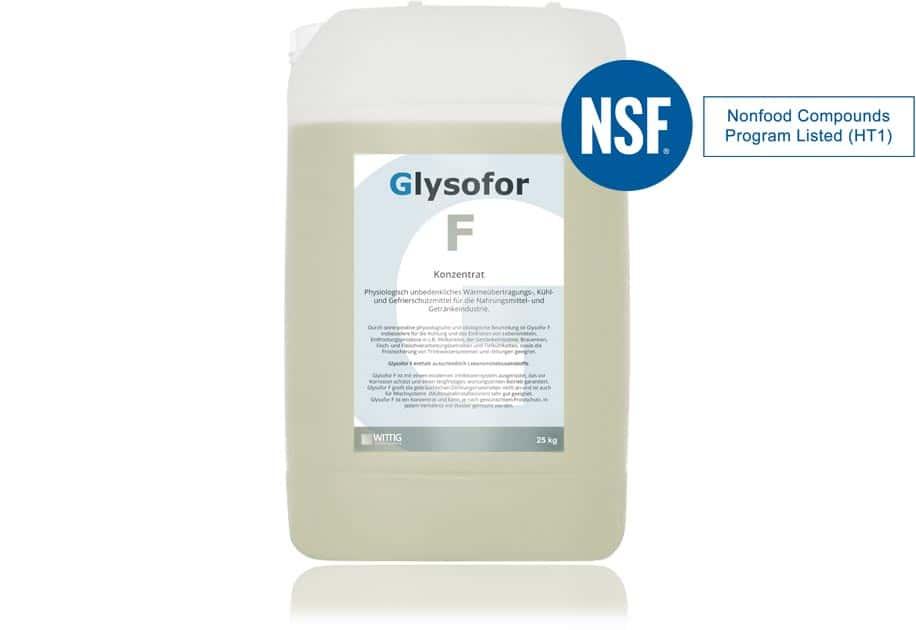 Produkt Glysofor F - Propylenglykol NSF registriert